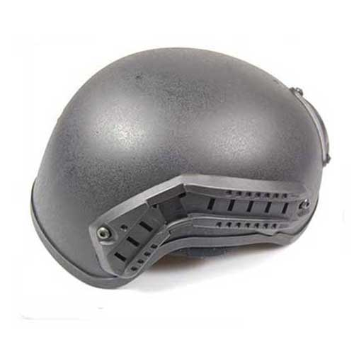 H Tactical Helmet Black for Airsoft Upgrade
