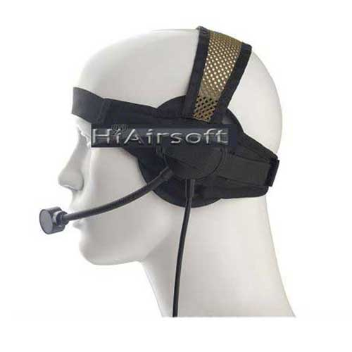 Z-Tactical Selex TASC 1 Protector Headset Black for Airsoft