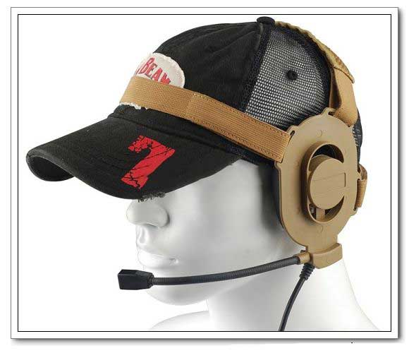 Z-Tactical zBowman Elite II Protector Headset Tan