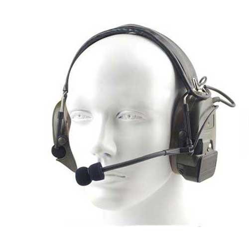 Z Tactical zComtac I Noise Reduction Headset Z 054 Black