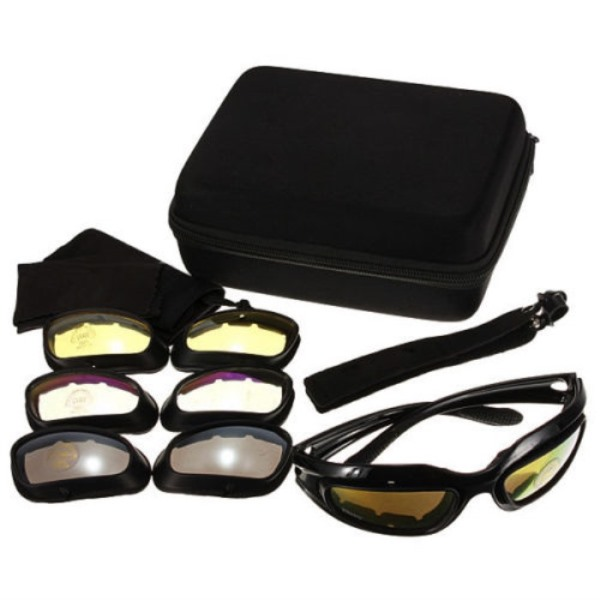 e48381bcbf67 Daisy C5 Goggles Tactical Eye Protection Sunglasses Airsoft Glasses ...