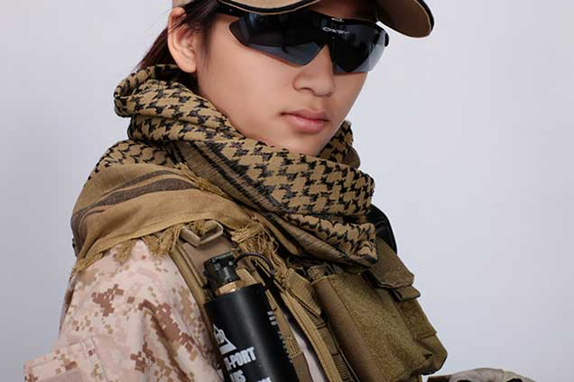 Military windproof Shemagh Tactical Desert ARAB Scarves Keffiyeh Scarf 100%  Cotton Wargame Scarf 603ebbcb2