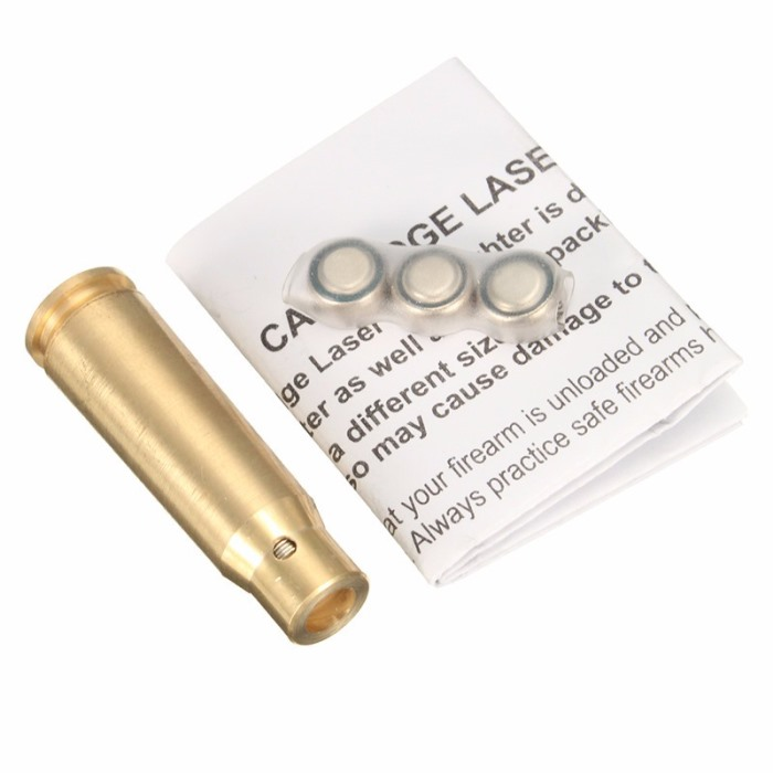 7.62x39mm Red laser bore sighter cartridge Brass Sighting Caliber