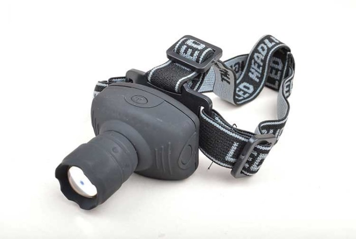 3W LED Light Weight Motile Headlamp for Hunting Fishing 3 Headlight