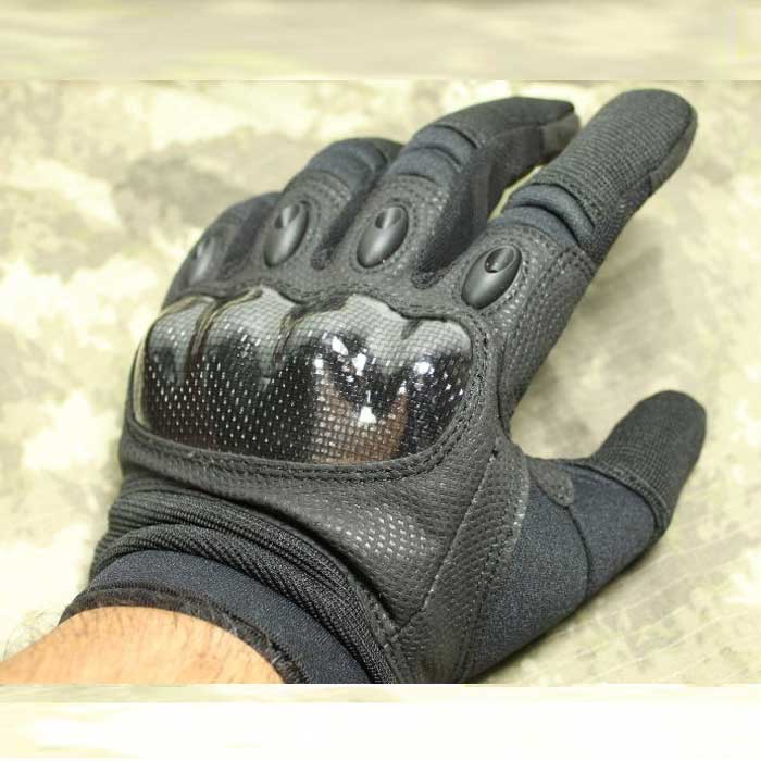 TMC Tactical Gloves Airsoft Combat Gear Full Finger Protect Glove BK