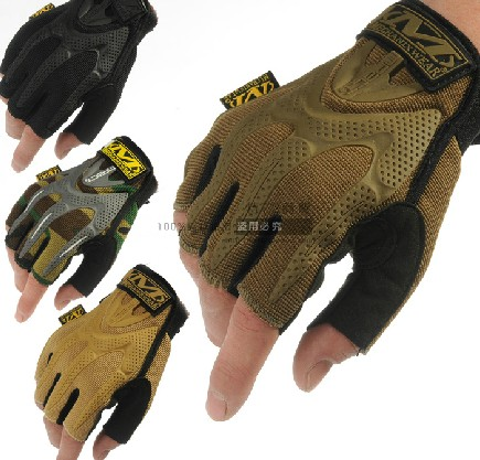 New Military M Wear M-Pact Half finger Gloves 3 Color