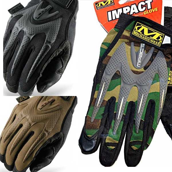 New M-Pact Full Finger Gloves Military 3 Color