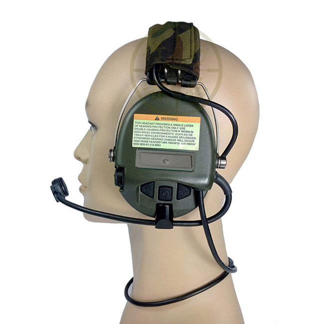 Sordin Headset Airsoft Radio Comtac