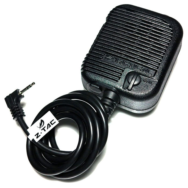 Z USMC Intercom PTT Speaker with mic for 1 Pin Motorola Version