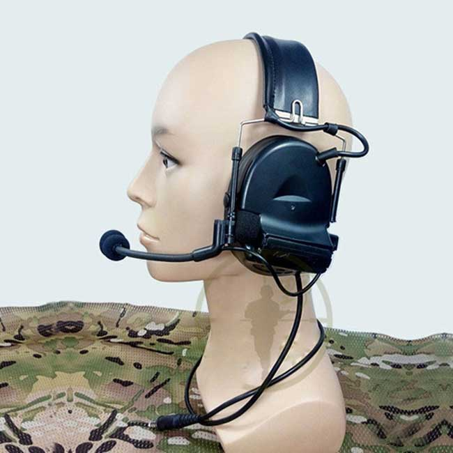 Tactical Comtac II Headset for Military Walkie talkie PTT Talkabout