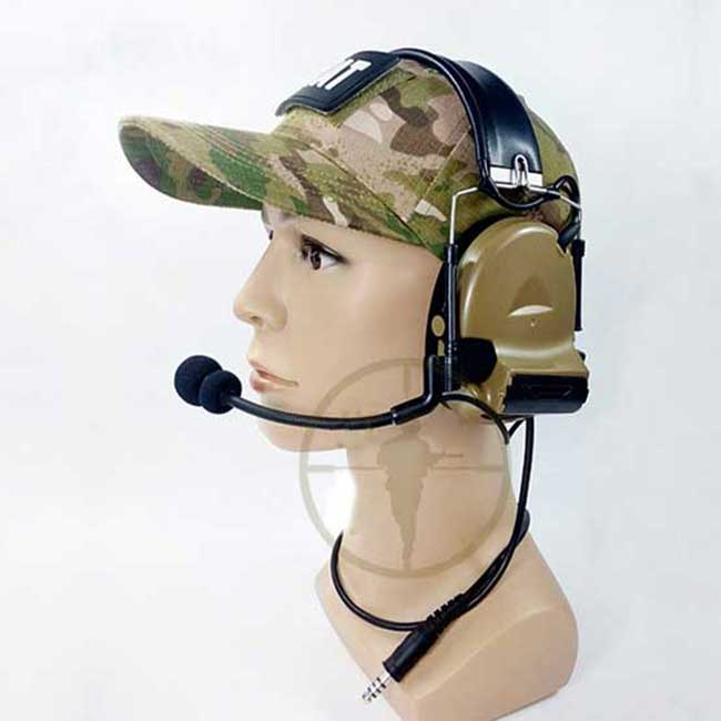 Tactical Comtac II Headset USTS Advanced Modular Noise Reduction DE