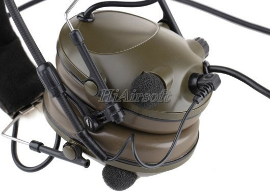 Comtac Military Version Tactical Sound-Trap Headset