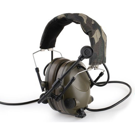 Airsoft Radio Comtac Military Version Tactical Sound-Trap Headset