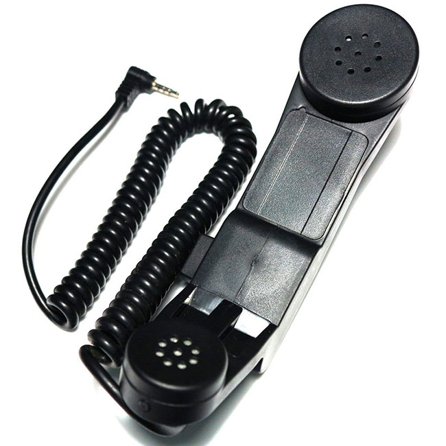 H-250 Military Phone for Yaesu 1 Pin Tactical Radio Gear