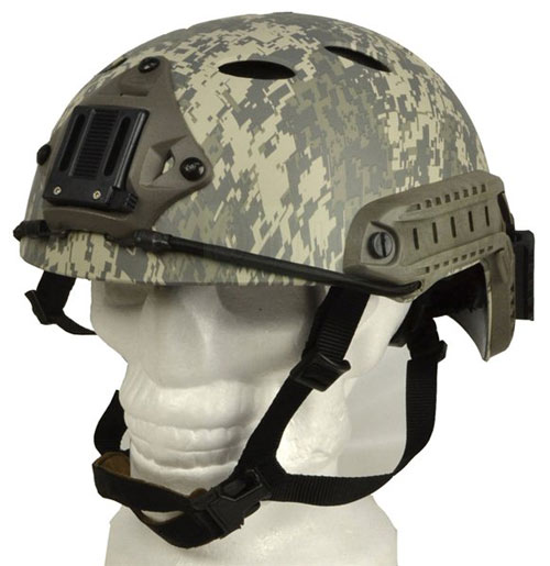 Airsoft FAST Base Jump Style Helmet ACU with ABS plastic