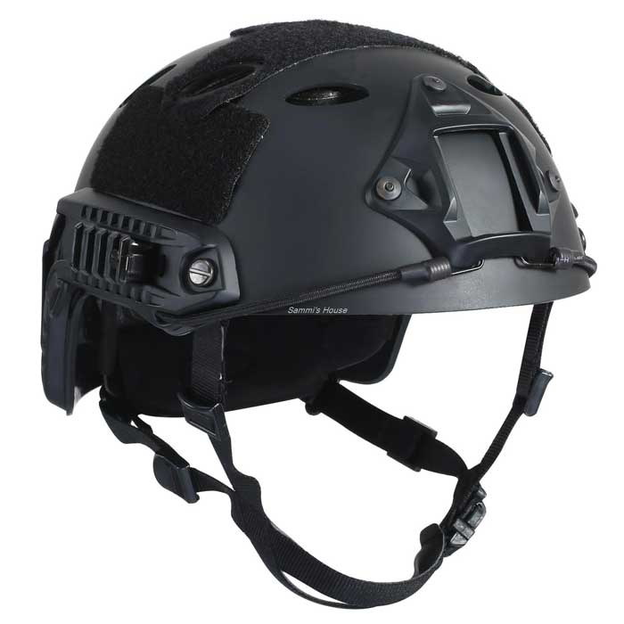 Advanced Edition Fast Military Tactical Helmet Fast Jump Helmet BK