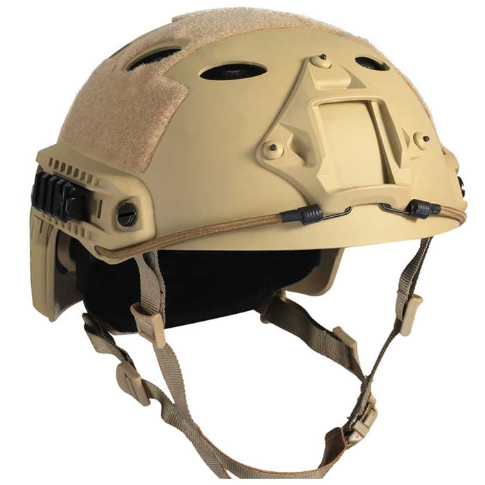 Advanced Edition Fast Military Tactical Helmet Fast Jump Helmet TAN