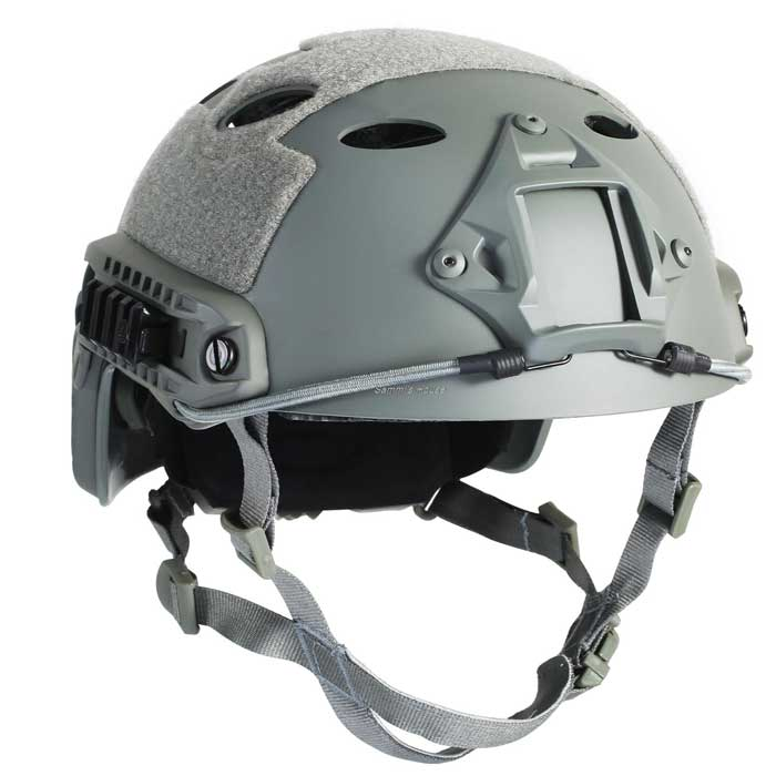 Advanced Edition Fast Helmet Tactical Military Fast Jump Helmet GRAY