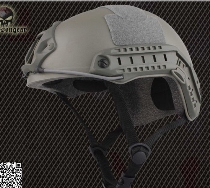 Tactical Helmet Airsoft Combat Sports Safety Military Helmet MH FG