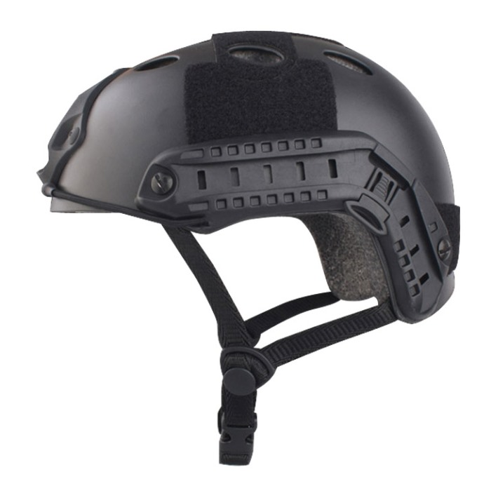 Tactical Airsoft Fast Helmet Military Sport Helmet w Fast Hole BK