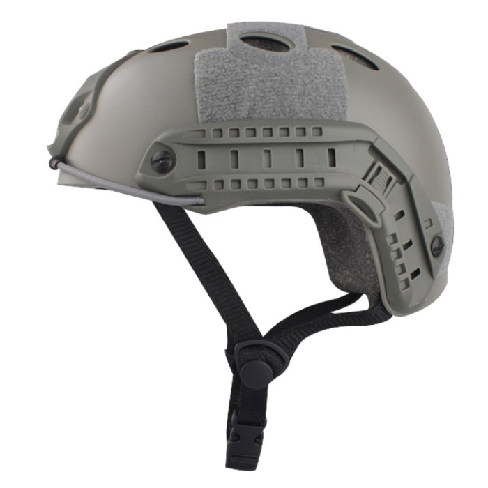 Tactical Airsoft Fast Helmet Military Sport Helmet w Fast Hole FG