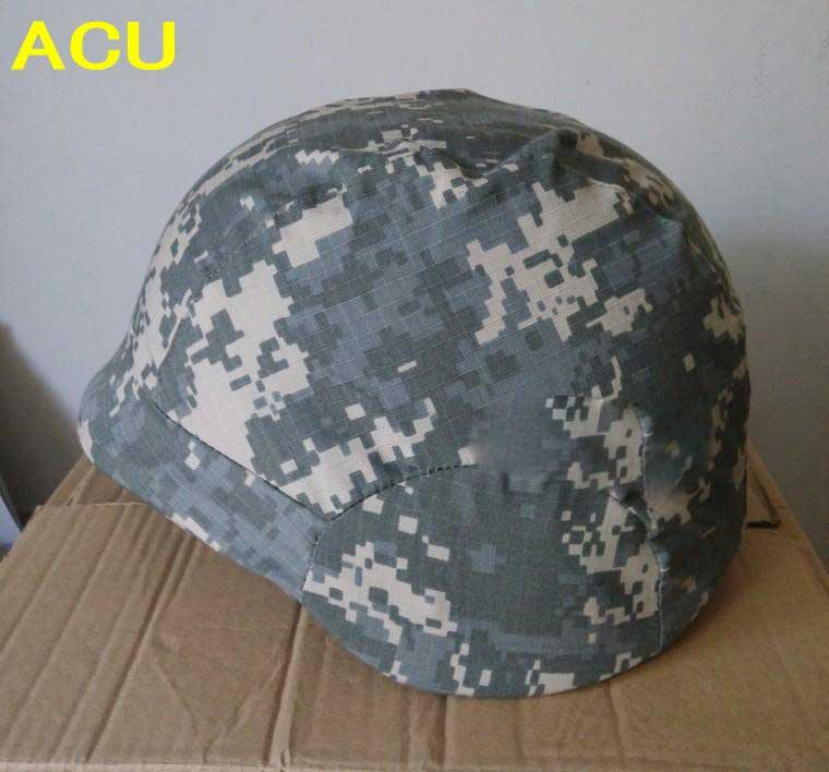 Tactical Helmet Cover SWAT PASGT Paintball M88 Helmet Cloth CoverACU