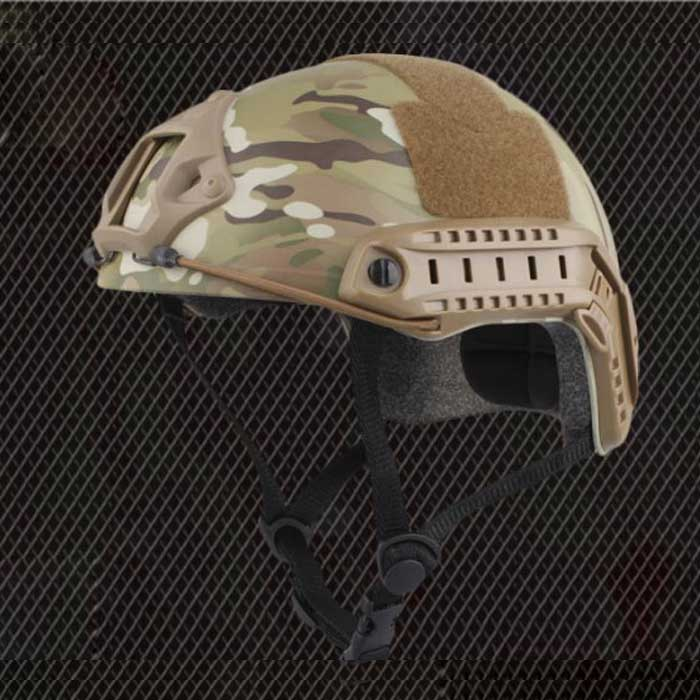 Tactical Helmet Airsoft Sports Safety Military Helmet MH CP Camo