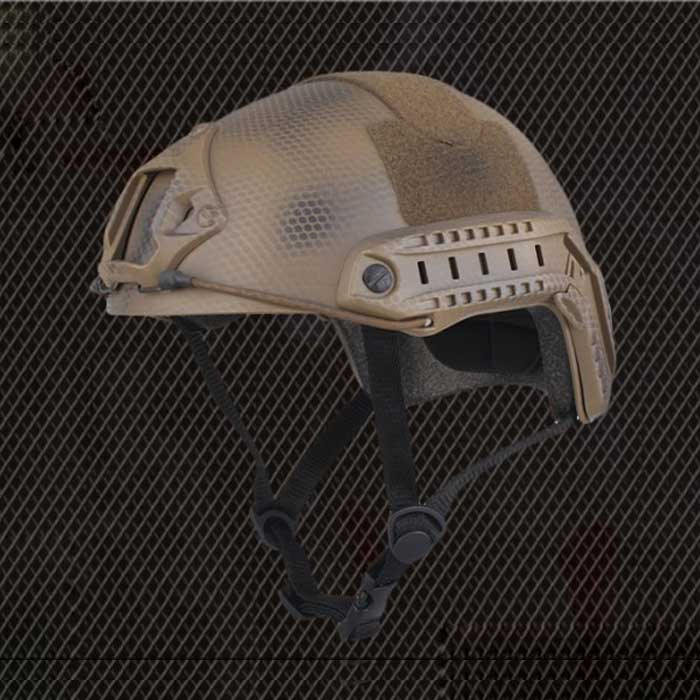 Tactical Helmet Airsoft Sports Safety Military Helmet MH NA Camo