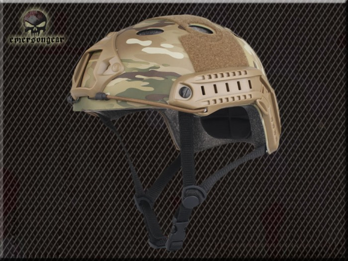 Tactical Airsoft Fast Helmet Durable Sport Helmet w Fast Hole MC