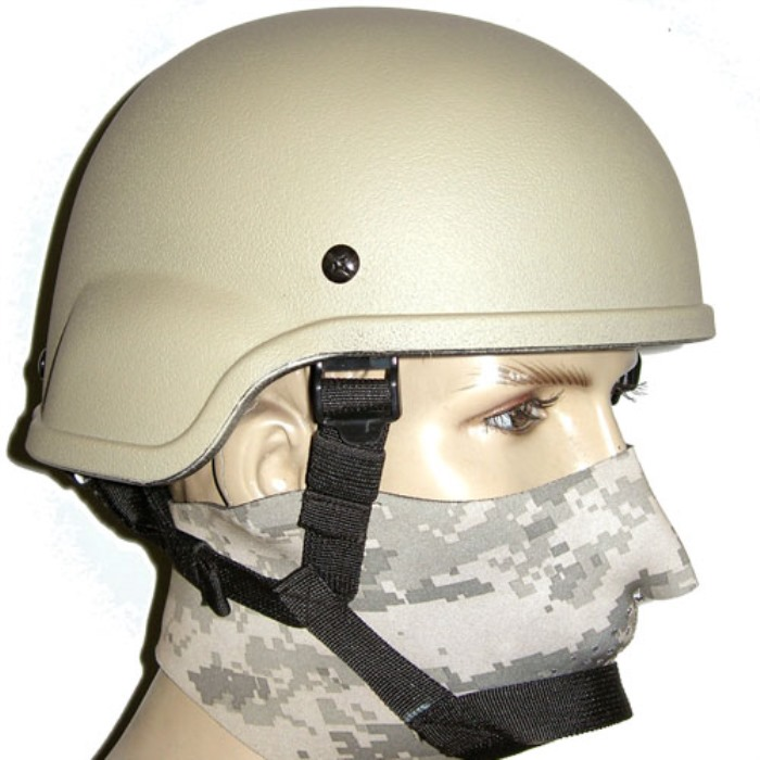 Mich 2002 Helmet Standard Edition Tactical Matrix Helmets TAN