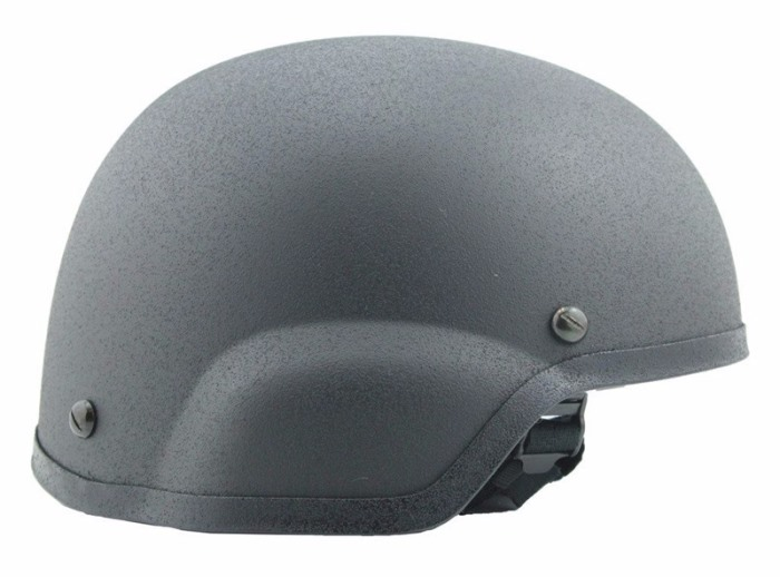 Mich 2002 Helmet Special Edition ACH Airsoft Anti-Riot Helmets Gray