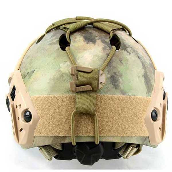 FAST Helmet DIY deck Set Army Green Tactical Rope