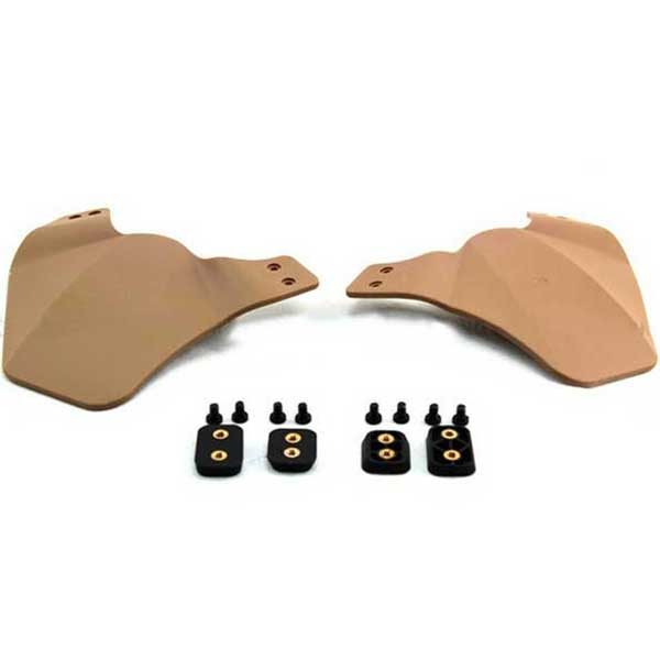 Face Cover for OPS FAST Jump/Carbon/Air Frame Helmet Tan
