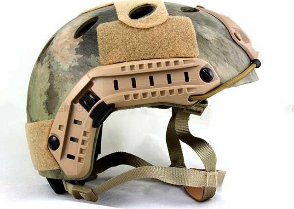 Helmet Side Rails Helmet Side Rail For Ach