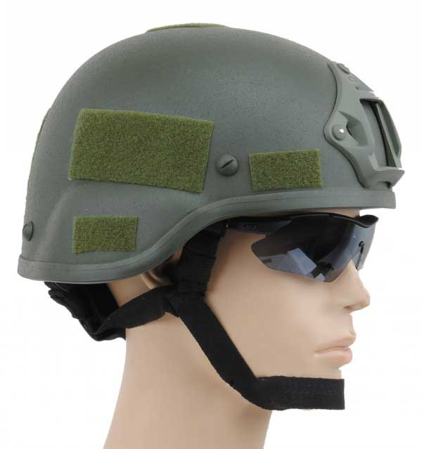 Mich 2000 Helmet with NVG Mount OD free size for sale