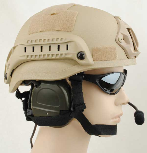 MICH TC-2000 ACH Kevlar Helmet Khaki for sale
