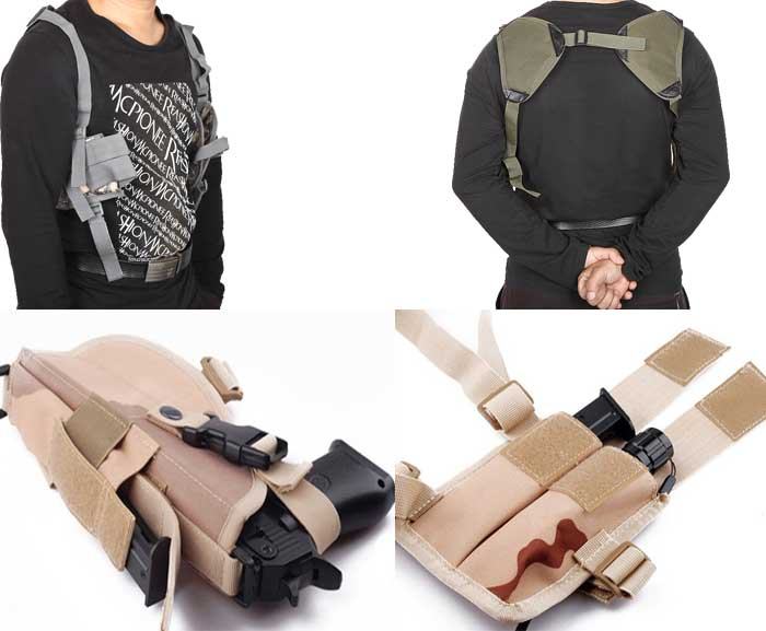 Pistol Hand Gun Shoulder Holster