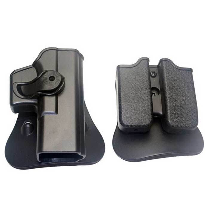 IMI Defense Carry Tactical Roto Polymer Holster Glock Magazine Pouch