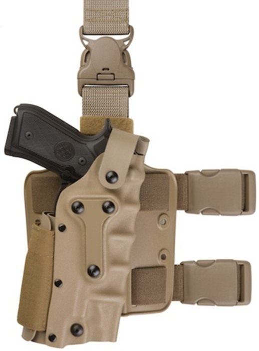 Military Safariland Holster Tactical 3280 Leg Holster Platform DE