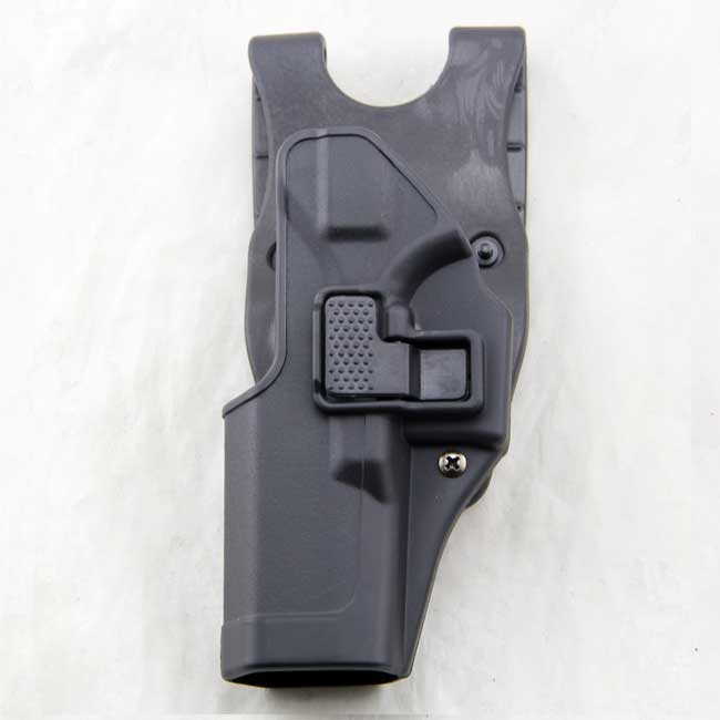 Left Hand Glock 17 19 CQC Polymer Retention Holster BK