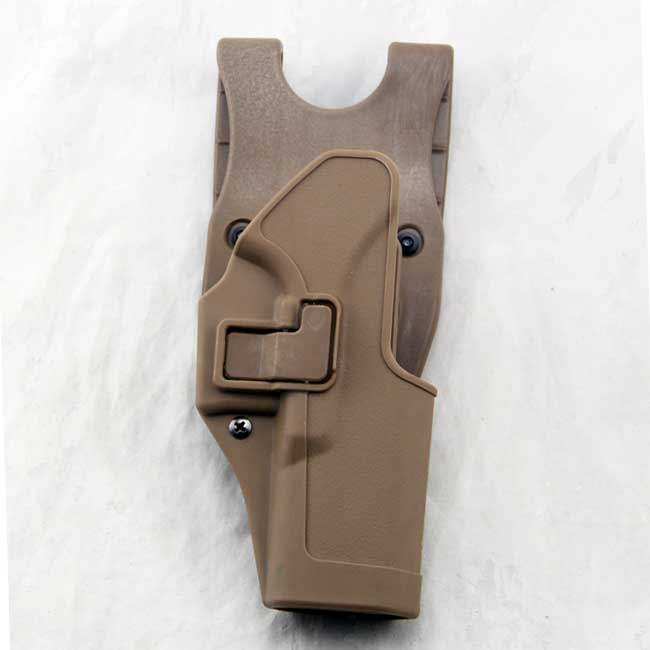 CQC Glock 17 19 22 Polymer Duty Belt Tactical Holster TAN