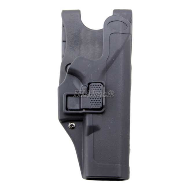 BH Duty Holster Level 3 Glock Extended Tactical Fast Holster BK