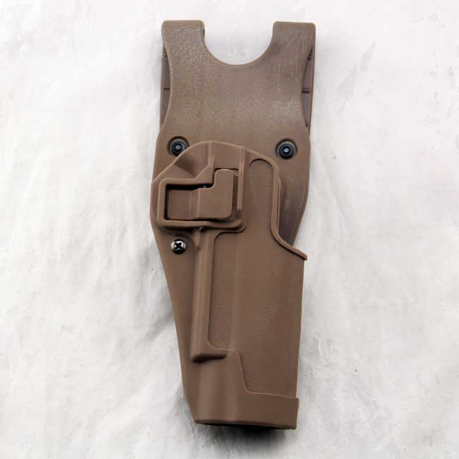 CQC 1911 Gun Holsters 1911 Belt Holster w Paddle Colt M1911 RH TAN