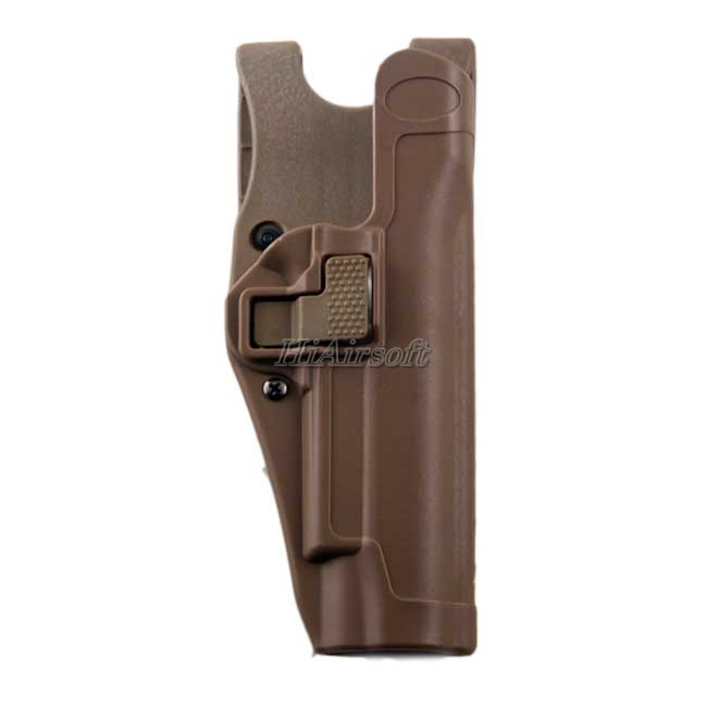 BH Duty Holster 1911 Level 3 Tactical M1911 Pistol Holders DE