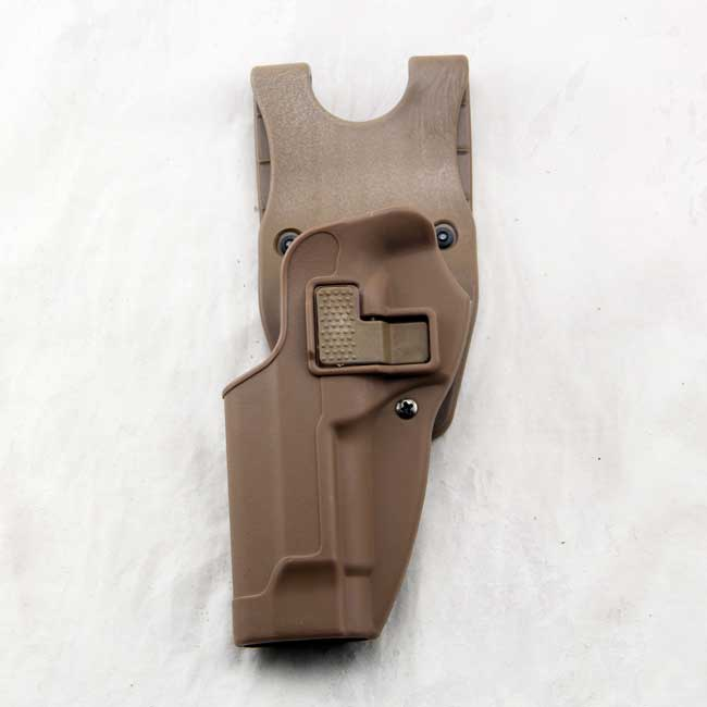 Left Hand M9 92 96 Tactical Paddle with Belt CQC Holster Tan