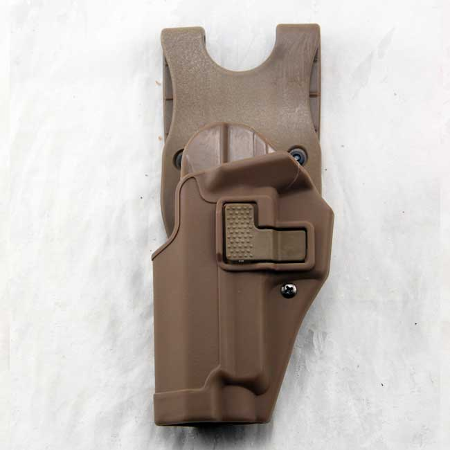 Left Hand P226 220 Gun Holster Airsoft Tactical Waistband Holster DE