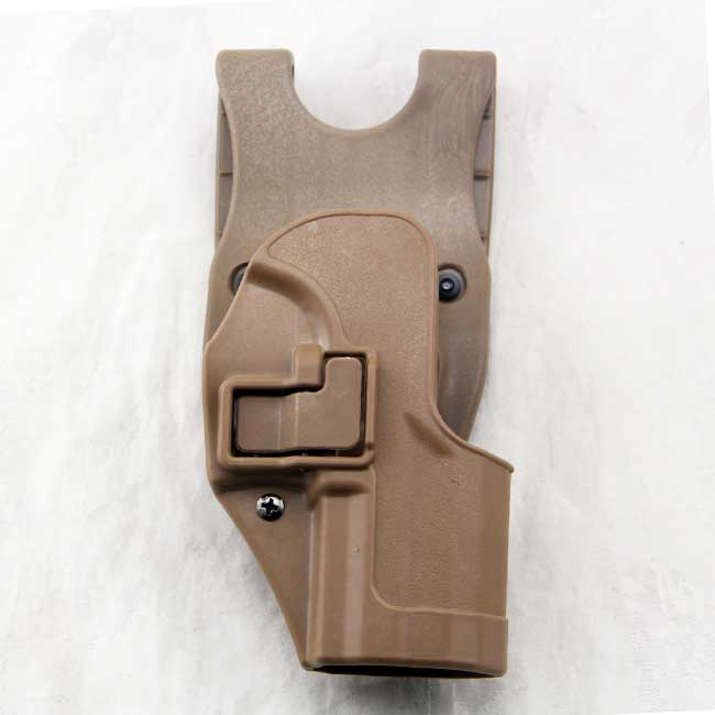 CQC H&K USP Tactical Serpa Full Size Paddle Belt Holster RH TAN