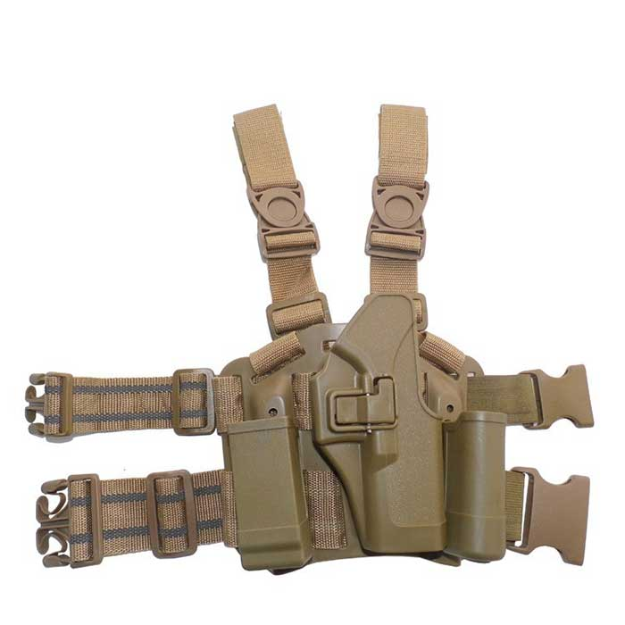 BlackHawk CQC for Glock 17 19 22 Holster & Plateform CQC 4in1 Tan