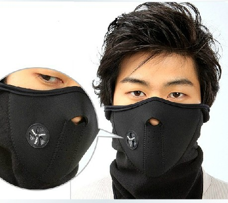 Airsoft Tactical Outdoor Cycling Full Face Masks Air Holes