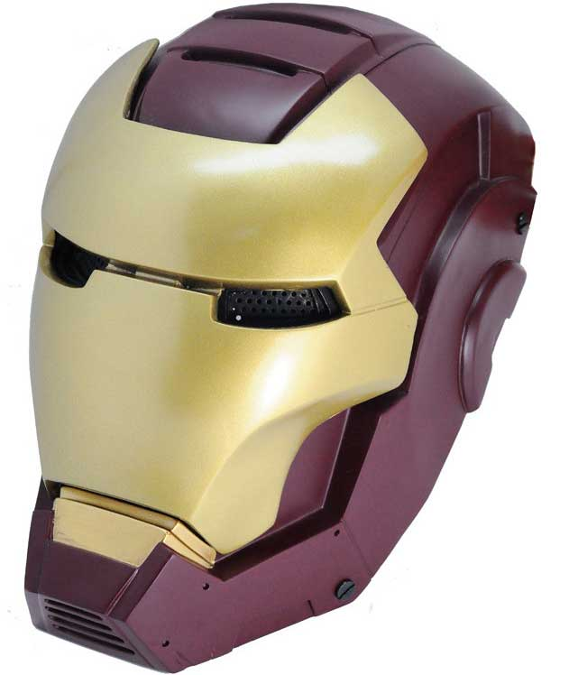 Cool Iron Man 2 Movie Mask Protection Helmet